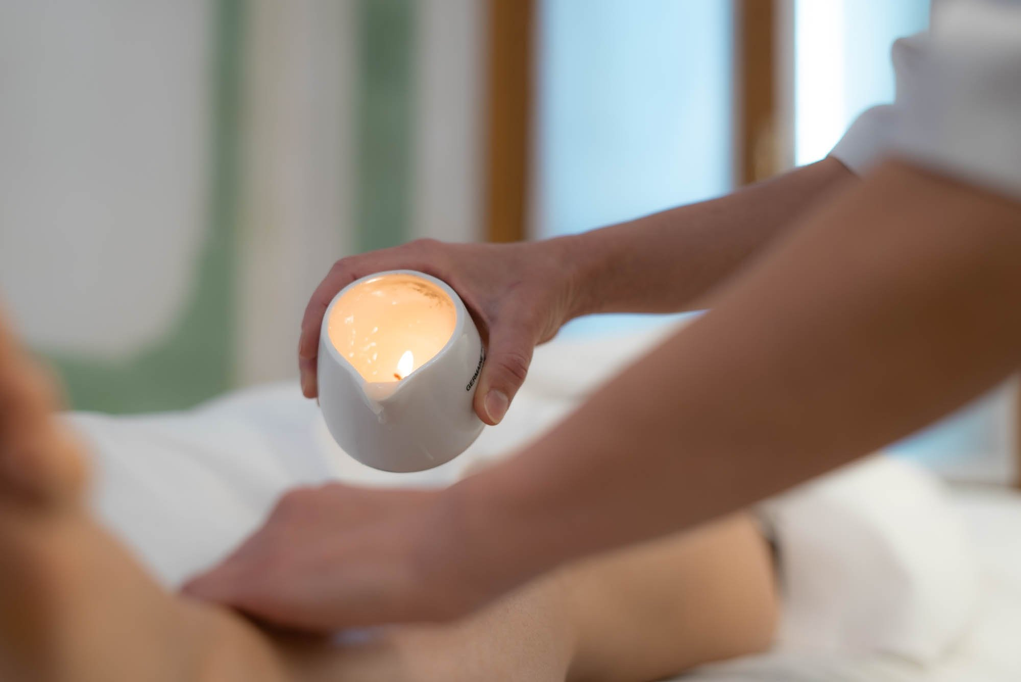 Estetica Shanty candle massage